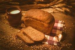 Pane e licenziare Immagini Stock
