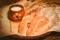 Pane e licenziare Immagine Stock