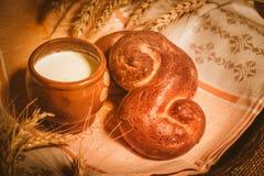 Pane e licenziare Fotografia Stock