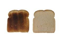 Pane e pane tostato Fotografia Stock