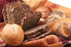 Pane e panini fotografie stock