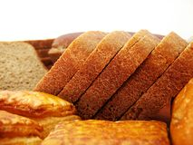 Pane e panino Fotografia Stock