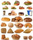 Pane e prima colazione Immagine Stock