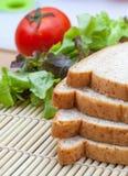 Pane e verdura Fotografie Stock