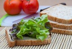Pane e verdura Fotografia Stock