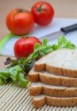 Pane e verdura Fotografie Stock Libere da Diritti