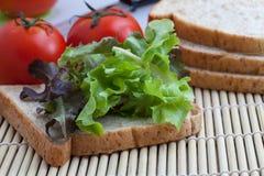 Pane e verdura Fotografia Stock Libera da Diritti