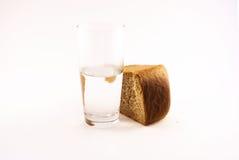 Pane ed acqua 4 fotografie stock