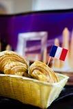 Pane francese Fotografie Stock