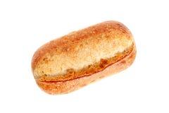 Pane francese su bianco Immagine Stock Libera da Diritti