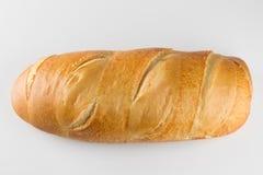 Pane francese su fondo bianco Immagini Stock