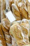 Pane francese su vendita Fotografia Stock Libera da Diritti