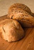 Pane fresco con il cereale della crusca Fotografia Stock Libera da Diritti