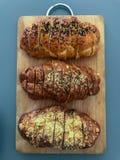 Pane fresco del challah immagini stock