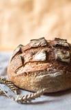 Pane fresco dell'artigiano del lievito naturale Immagini Stock Libere da Diritti