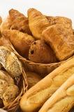 Pane fresco e pasticceria Fotografie Stock Libere da Diritti