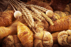 Pane fresco e pasticceria Fotografia Stock