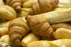 Pane fresco e una pasticceria Immagini Stock Libere da Diritti