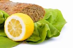 Pane fresco e verdure Immagini Stock