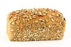 Pane fresco isolato su bianco Fotografia Stock