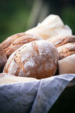 Pane fresco su pergamena Immagine Stock Libera da Diritti