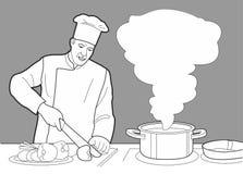 Pane, grano, grano, ciambella, mulino del dolce e cucinare Metta i simboli e l'icona del forno di vettore Fotografia Stock