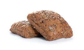 Pane integrale al forno, bio- ingredienti, sani con i semi immagini stock