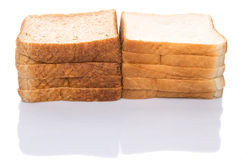 Pane integrale e pancarrè II Immagini Stock