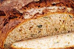 Pane integrale seminato fotografia stock libera da diritti