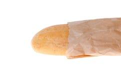 Pane integrale su un fondo bianco Fotografia Stock