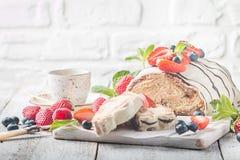 Pane intrecciato fresco fotografia stock