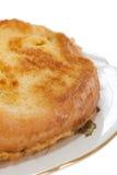 Pane inzuppato in latte/uova e zucchero e fritto in padella sulle uova Fotografie Stock Libere da Diritti