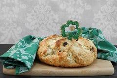 Pane irlandese della soda per il giorno della st Patricks Immagini Stock Libere da Diritti