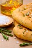 Pane italiano di focaccia Fotografia Stock