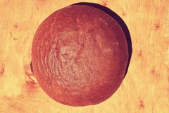 Pane marrone fresco Fotografia Stock