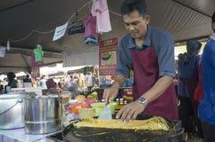 Pane netto, alimento malese tradizionale Fotografie Stock Libere da Diritti