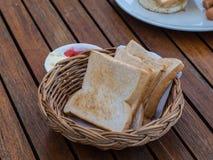Pane per la prima colazione Fotografie Stock Libere da Diritti