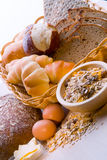 Pane, pianta del cereale, pasta Pane, pianta del cereale, Immagine Stock