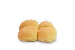 Pane rotondo su fondo bianco Immagini Stock
