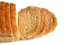 Pane sano del grano intero, pane nero, pane nero turco, immagini di pane nei concetti differenti, Fotografia Stock Libera da Diritti