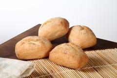 Pane sopra sulla tavola Fotografia Stock