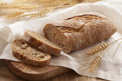 Pane su bianco Fotografie Stock Libere da Diritti