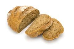 Pane su un bianco Fotografia Stock Libera da Diritti