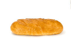 Pane su un fondo bianco Fotografie Stock