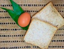 Pane sulla tavola di legno Immagine Stock