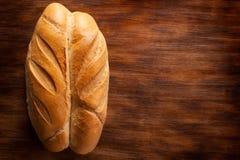 Pane sulla tavola di legno Immagine Stock Libera da Diritti