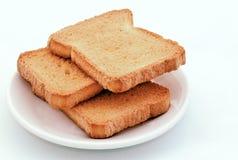 Pane tostato Fotografie Stock Libere da Diritti