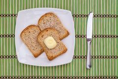 Pane tostato Immagine Stock