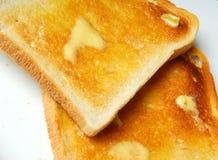 Pane tostato. immagini stock