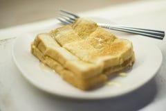 Pane tostato al forno tailandese Fotografia Stock